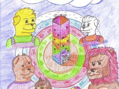 children 's book ilustration parts