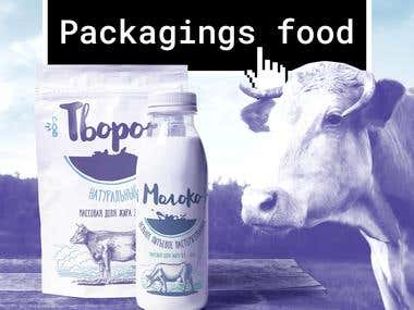 Packaging design of food and beverage products