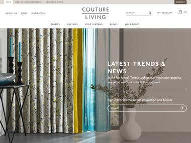 Couture Living - eCommerce Development