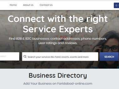 Business Listing ( List many Companies and stores )