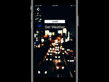 Live Weather Detector