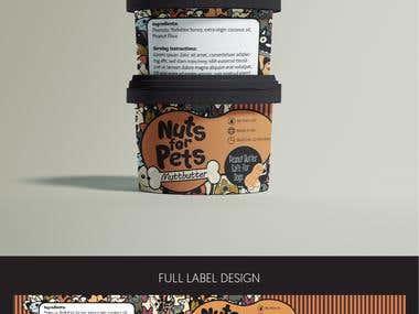 Peanut Jam Label