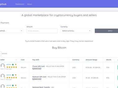 KryptHub - Website