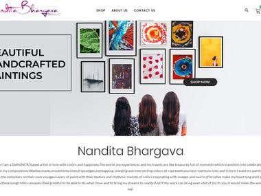 NanditaBhargava - Website