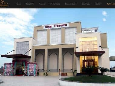 JaggiResorts - Website