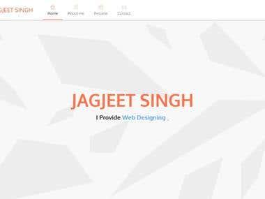 iJagjeet - Website, My Own Site :)