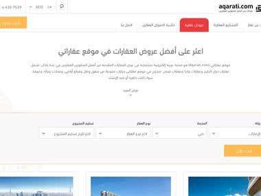 Aqarati - Website