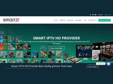 Smart IPTV HD Website On-Page & Off-Page SEO