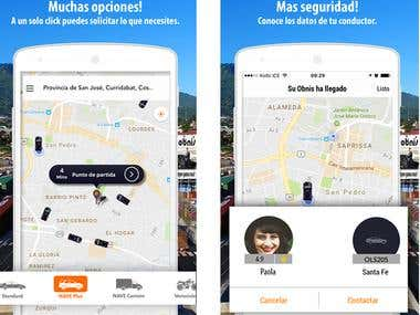 Obnis Taxi app