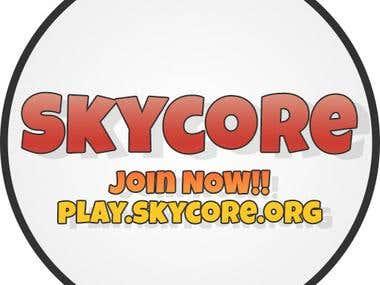 Skycore Server (Simple) Logo