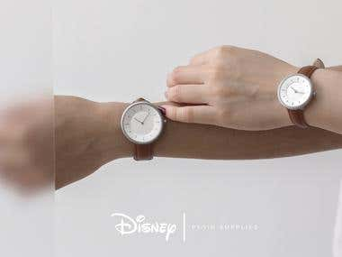 DISNEY / PLAIN SUPPLIES WATCH