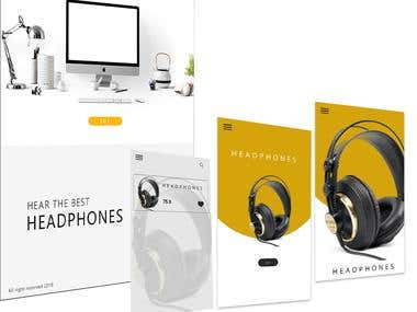 Headphones - U(I-X) Design