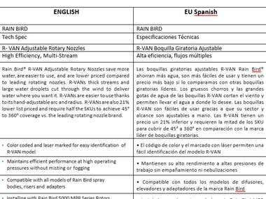 Translation EN - SP