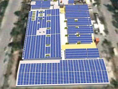 3D Design for Solar Projects
