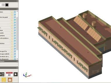MEP design for a school