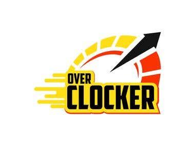 over clocker logo