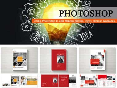 Photoshop book deisgn
