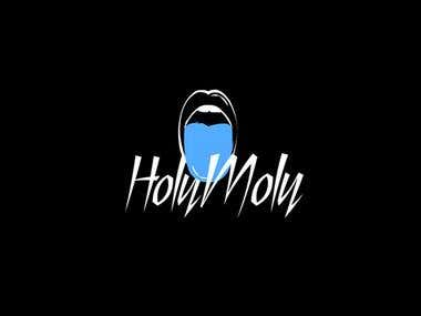 HolyMoly logotype and brand identity
