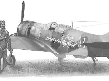 pilot Pakryshkin