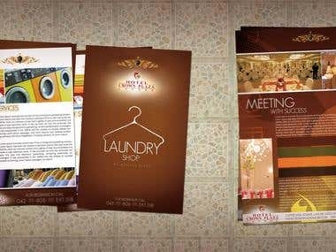 Flyer design layouts