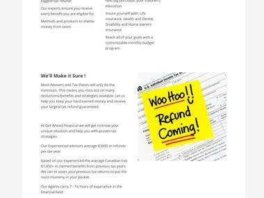 Tax Services Web Application