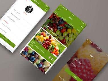 Fruit Store app
