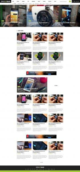 Driod View (Simple and Attractive Blog Service)