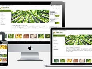 Organic packaging WooCommerce Store