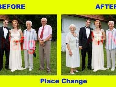 Place change