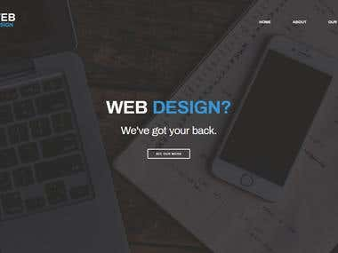 Web Design website