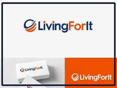 living for it logo