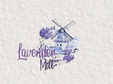 Lavender Mill Sketched LOGO