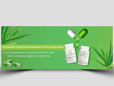 Natural Medicine Web Banner Design