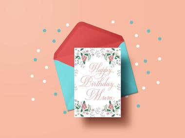 Greetings card collection
