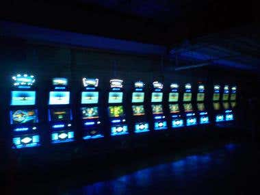 Multi-game software machines slots(Delphi, VC++, OpenGL)