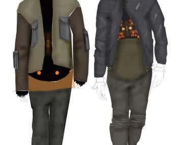 Digital Fashion Illustrations