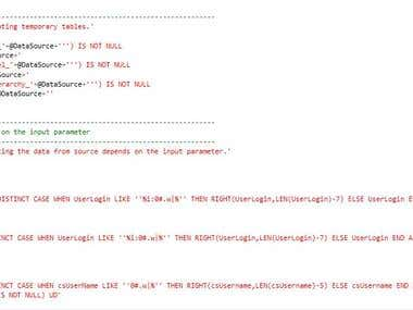 SQL Server database query
