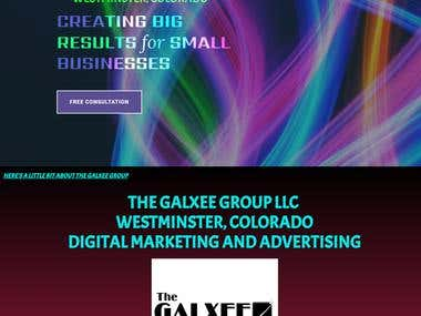 The Website of The Galxee Group LLC