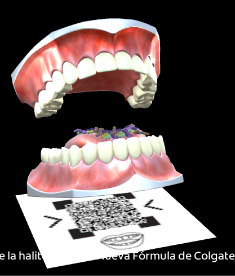Augmented Reality Colgate Total