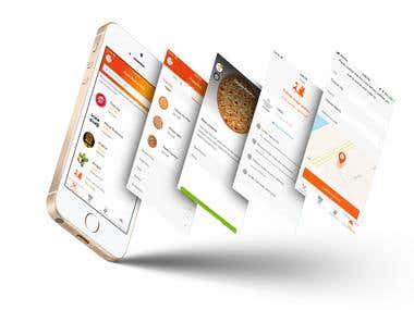 iOS delivery app