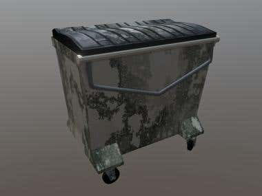 Dumpster Set (3D)