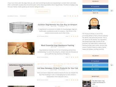 Affiliate WordPress Website Needed