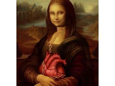 My Mona Lisa Version