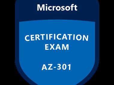 AZ-301 Microsoft Azure Architect Design
