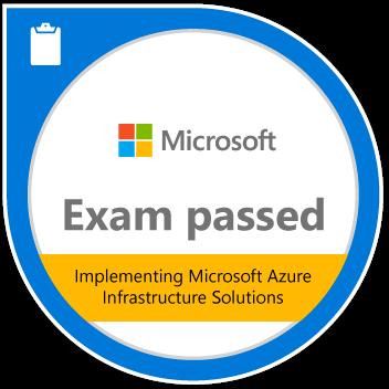 Exam 533: Implementing Microsoft Azure Infrastructure Soluti