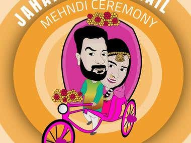Mehndi Cartoon...