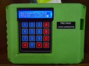 Prepaid DC Energy Meter