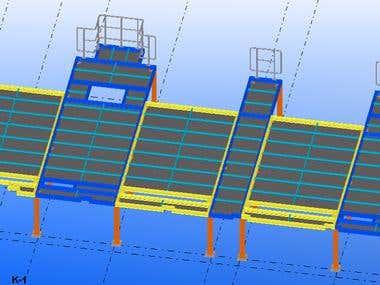 Work Platforms of industrial factory