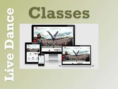 Online Live Dance Classes with Escrow system