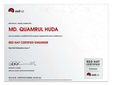 Redhat Certificate